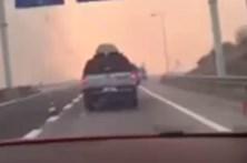 CMTV acompanha GNR na fuga ao incêndio de Vila Velha de Ródão