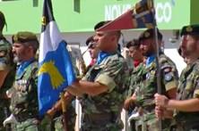 Juramento de bandeira do Exército pela primeira vez em Macedo de Cavaleiros