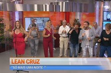 Lean Cruz anima o Manhã CM