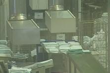 Nuvem tóxica leva onze funcionárias ao hospital