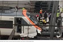 Acidente com comboio faz 50 feridos em Barcelona