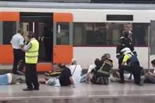 Acidente com comboio em Barcelona faz 50 feridos