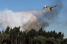 Cinco aviões reforçam combate ao fogo em Portas de Ródão