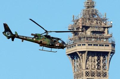 Segurança máxima em Paris nas celebrações do Dia da Bastilha