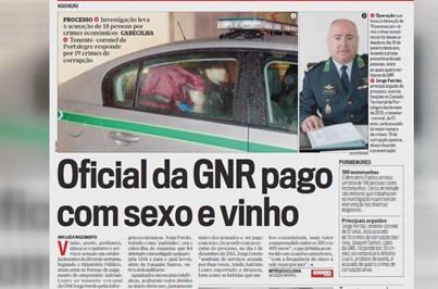 Prisão para dois GNR