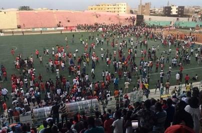 Oito mortos em tumulto num jogo de futebol no Senegal
