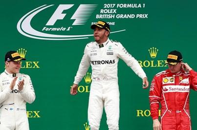 Hamilton vence GP da Grã-Bretanha e fica a um ponto de Vettel no Mundial de F1