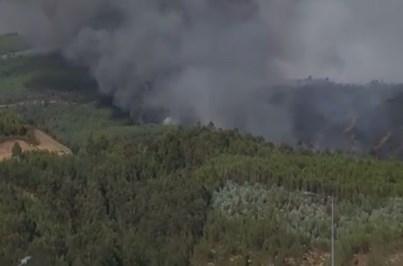 Incêndio ameaça aldeias em Oleiros