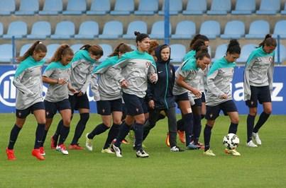Seleção de Futebol feminino estreia-se no Europeu