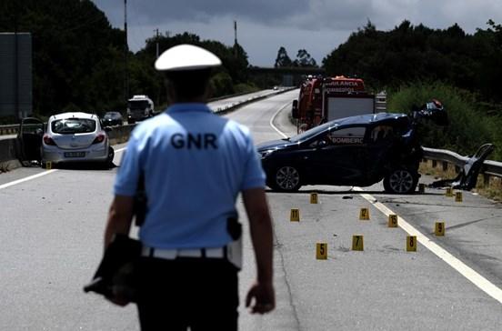 Despiste de automóvel faz um morto na EN 2 em Aljustrel