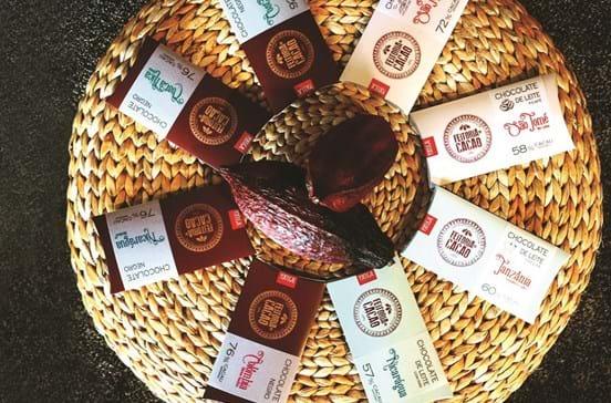 Chocolate negro nicarágua, da Feitoria do Cacao, premiado