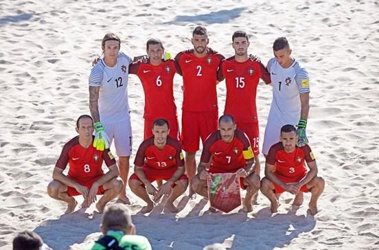 Portugal no ataque ao Mundialito