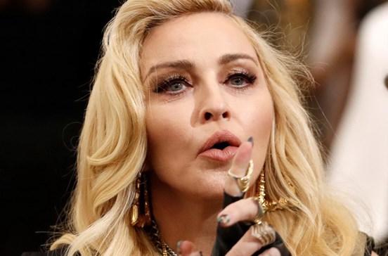 Madonna com seguranças e mordomo em Lisboa