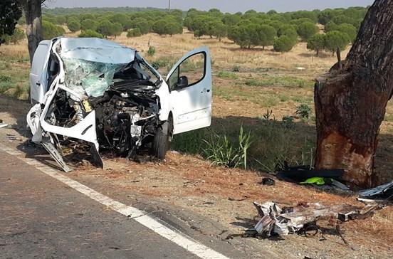 Despiste de automóvel mata condutor em Beja
