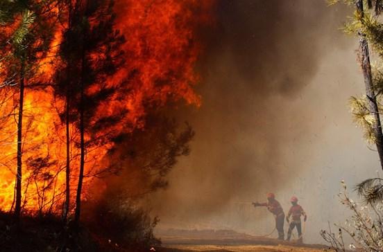 Aldeias de Mação evacuadas devido a incêndio