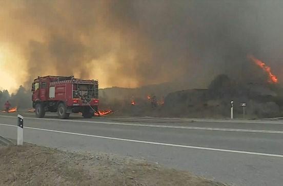 Aldeia de Falagueira em Nisa volta a ser evacuada