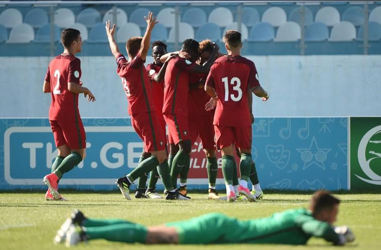 Sub-19 portugueses na final do Campeonato da Europa