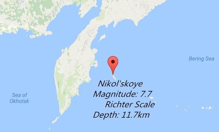 Forte terremoto de 7,7 graus abala a Rússia — Alerta de tsunami