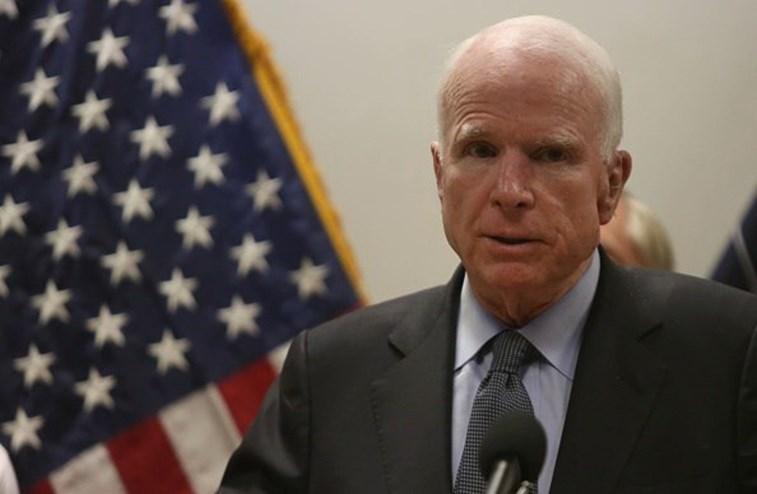 Detetado tumor cerebral em senador republicano norte-americano John McCain