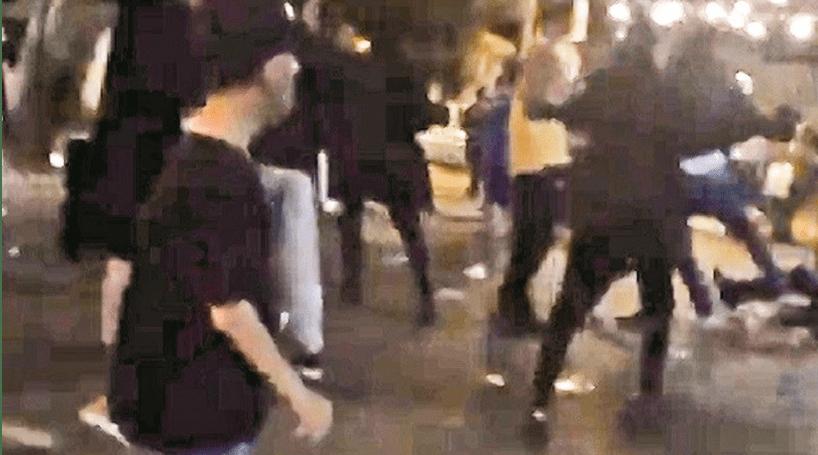 Vídeo mostra PSP emboscados