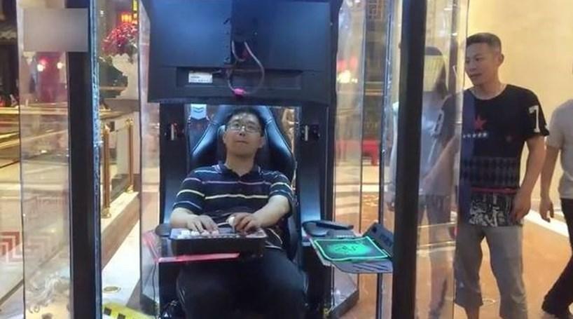 """Centro comercial chinês inaugura """"depósitos de maridos"""""""