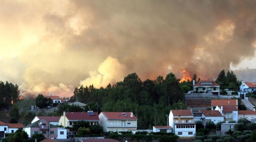 Fogo no concelho da Covilhã controlado durante a madrugada