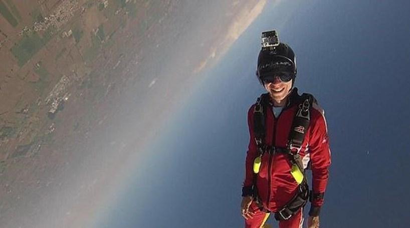 Paraquedista morre depois de enviar vídeo à mulher