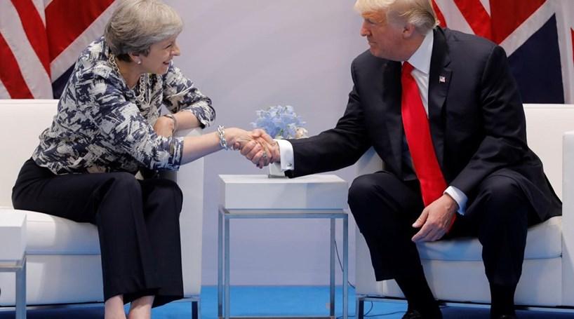 Trump diz a May que só vai ao Reino Unido se esta garantir um boa receção