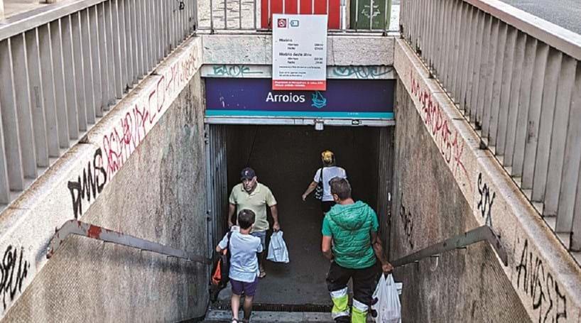 Estação de Arroios fecha para renovação até 2019