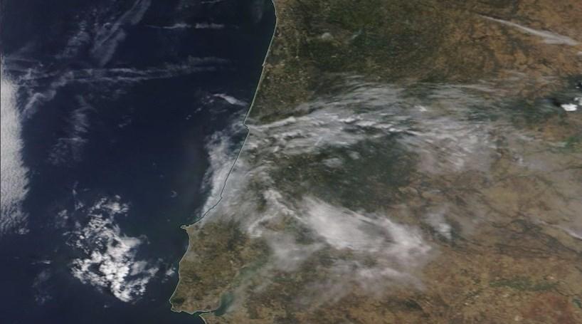 Fotos aéreas da NASA mostram destruição do incêndio de Pedrógão Grande