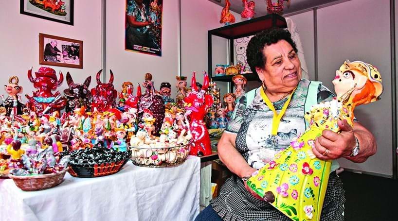 Aparador Adega Preto ~ Mostra de artesanato reúne 125 expositores Cidades Correio da Manh u00e3