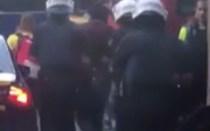 Vídeo mostra a possível captura de um dos terroristas de Barcelona