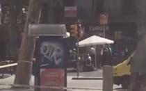 Jornalista da CMTV capta primeiras imagens do atentado em Barcelona