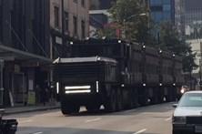 Deadpool 2 levou camião apocalíptico às ruas de Vancouver