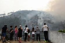 Fogo em Coimbra deixa populações em sobressalto