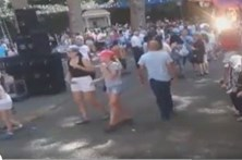 Vídeo mostra momento da queda da árvore que matou no Funchal