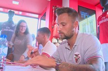 Seferovic quer fazer 25 golos na primeira época no Benfica