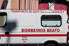 Ambulância dos Bombeiros do Beato roubada durante a noite