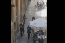 Imagens mostram operação policial após atentado