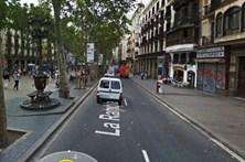 Veja o trajeto feito pela carrinha usada no atentado de Barcelona