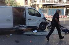 Terror no centro de Barcelona