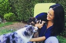 Rita Guerra em casa após doença