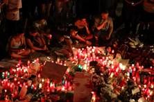 Dor na homeagem às vítimas de Barcelona