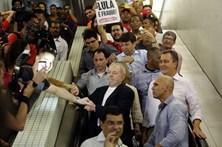 Lula inicia campanha para as presidenciais