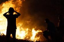 Sete principais fogos lavram em Castelo Branco, Leiria, Viseu, Viana do Castelo e Braga