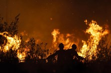 Um dos fogos de Resende foi dominado