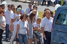 Dor nas cerimónias fúnebres das vítimas da Madeira