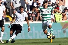 Sporting goleia Vitória de Guimarães por 5-0