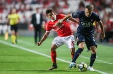 Benfica bate Belenenses por 5-0 na Luz