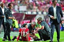 Salvio aumenta onda de lesões no Benfica